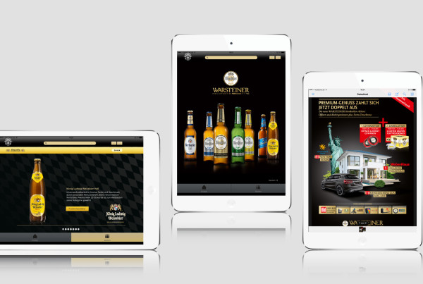 Warsteiner Screen Mobile